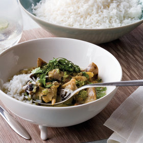 Food & Wine: Green Curry Chicken
