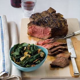 Food & Wine: T-Bone Fiorentina with Sautéed Spinach
