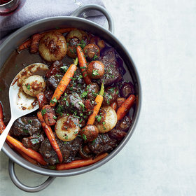 Food & Wine: Beef Stew in Red Wine Sauce