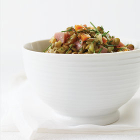 Food & Wine: Warm Lentil and Ham Salad