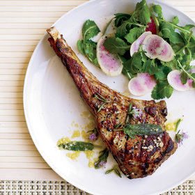Food & Wine: Tuscan-Style Veal Chops