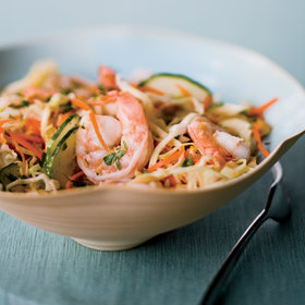 Food & Wine: Asian Shrimp and Cabbage Salad