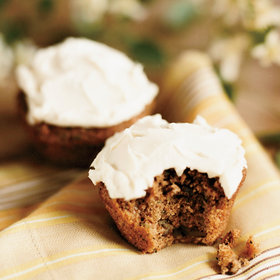 Food & Wine: Zucchini Cupcakes with Cream Cheese Frosting