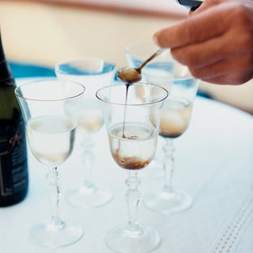 Food & Wine: Prosecco-Saba Cocktail