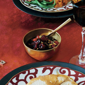 Food & Wine: Cranberry Sauce with Spiced Pumpkin Seeds