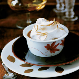 Food & Wine: Pumpkin Pudding with Mile-High Meringue
