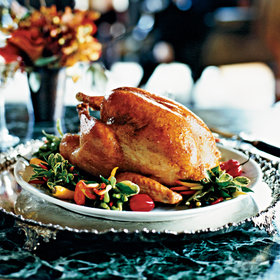 Food & Wine: Roasted Turkey with Tangerine Glaze
