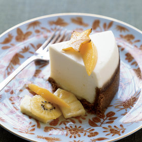 Food & Wine: Slow-Cooker Sour Cream Cheesecake