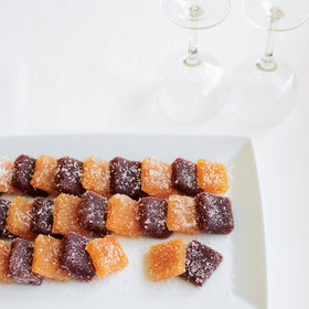 mkgalleryamp; Wine: Apricot Pâte de Fruit