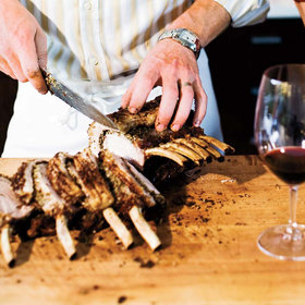 Food & Wine: Garlic-and-Spice-Rubbed Pork Loin Roast