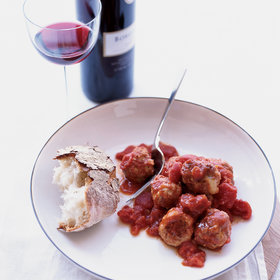 Food & Wine: Fontina-Stuffed Veal Meatballs