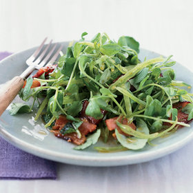 Food & Wine: Crunchy Asian Pea Salad with Honeyed Bacon