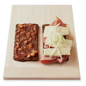Food & Wine: Grilled Cheddar and Ham with Apple and Chutney Sandwiches