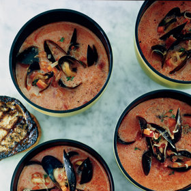 mkgalleryamp; Wine: Mussel and Chorizo Soup