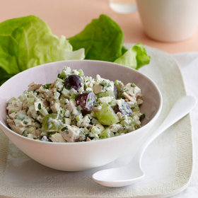 Food & Wine: Chicken Salad with Blue Cheese and Grapes