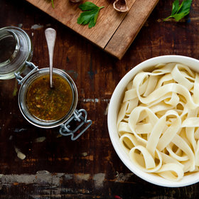 Food & Wine: Hazelnut-and-Green Olive Pesto