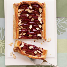 Food & Wine: Almond-Plum Tart