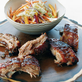 Food & Wine: Honey-Tamarind Baby Back Ribs