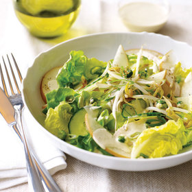 Food & Wine: Asian Chicken Salad with Wasabi Dressing