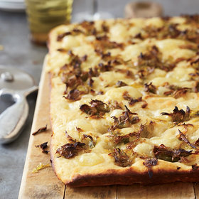 Food & Wine: Potato-Leek Focaccia
