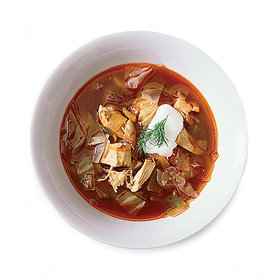mkgalleryamp; Wine: Ukrainian Chicken Soup
