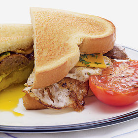 Food & Wine: Banger & Egg Sandwiches