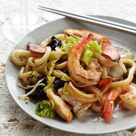 Food & Wine: Stir-Fried Udon Noodles
