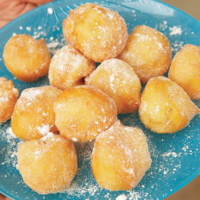 Food & Wine: Vanilla-Scented Beignets