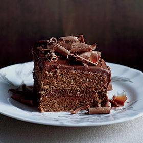 Food & Wine: Milk-Chocolate-Frosted Layer Cake