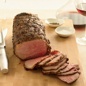 Food & Wine: Coriander-Dusted Roast Beef