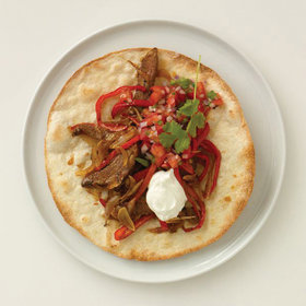 Food & Wine: Fajitas with Roast Beef