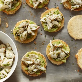 Food & Wine: Crab-and-Avocado Toasts