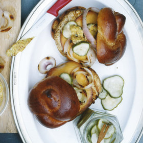 Food & Wine: Turkey Burgers with Smoked Gouda