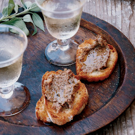 Food & Wine: Chicken-Liver Crostini