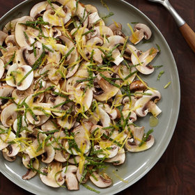 Food & Wine: Mushroom Salad with Mint