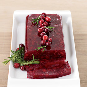 Food & Wine: Jellied Cranberry Sauce with Fuji Apple