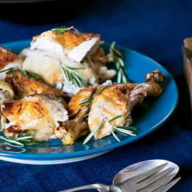Food & Wine: Roast Chicken with Tangerines