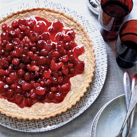 Food & Wine: Brown Butter-Cranberry Tart