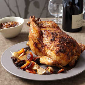 Food & Wine: Moroccan Roasted Chicken