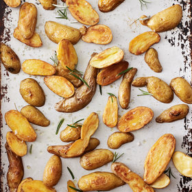Food & Wine: Rosemary-Roasted Potatoes