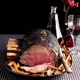 Food & Wine: Three-Ingredient Prime Rib Roast