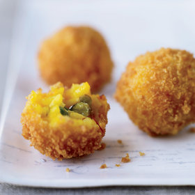 Food & Wine: Toasted Pistachio-Cheese Arancini