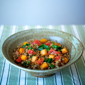 Food & Wine: Squash-Lentil Chili