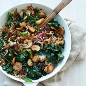 Food & Wine: Sunchoke-Kale Hash with Farro