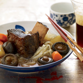 Food & Wine: Braised Short Ribs with Daikon and Glass Noodles
