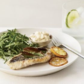 Food & Wine: Herb-Broiled Fish with Lemon Aioli