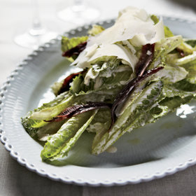 Food & Wine: Garlicky Caesar Salad