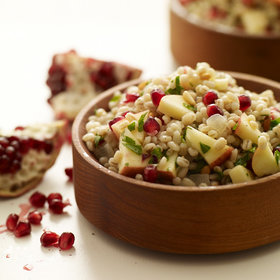 Food & Wine: Pearled Barley Salad with Apples, Pomegranate Seeds and Pine Nuts