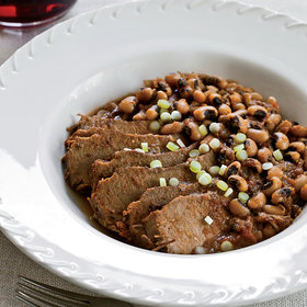 Food & Wine: Slow Cooker Spicy Brisket with Texas Caviar