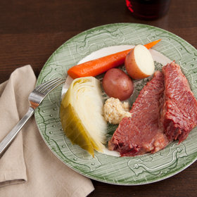 Food & Wine: Slow Cooker Corned Beef with Cabbage, Carrots and Potatoes